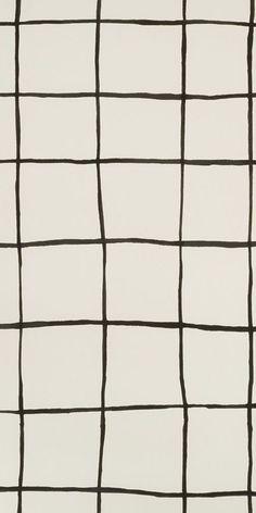 KELLY WEARSTLER | COQUETTE WALLPAPER. In Ivory/Black