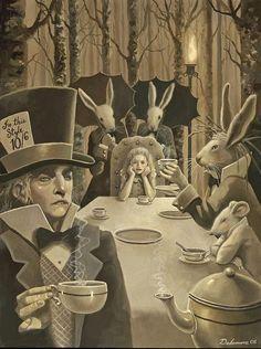 Pinzellades al món: Alícia en el País de les Meravelles: il·lustracions/ Alicia en el País de las Maravillas: ilustraciones / Alice in Wonderland: illustrations / Alice aux Pays des Merveilles: illustrations (7)