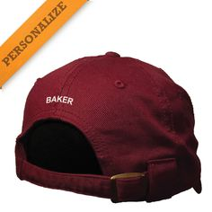 Kappa Alpha Maroon Personalized Hat By The Game®
