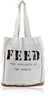 Each FEED 100 Bag will provide 100 supplements of Vitamin A through the FEED Foundation's Nutrients Fund.