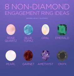 Memes, amethyst, and blue: non-diamond engagement ring ideas andrea hickey/ Diy Wedding, Dream Wedding, Wedding Ideas, Wedding Stuff, Wedding Wishes, Wedding Things, Perfect Wedding, Wedding Decor, Non Diamond Engagement Rings
