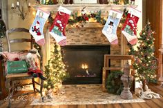 From My Front Porch To Yours: FMFPTY's First Annual Holiday Mantel Party