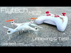 Skytech M62 Quadcopter – $29.95 – Phantom DJI Mini Version – Gearbest.com – Unboxing & Test! | Dennis Medler - Web Diversity