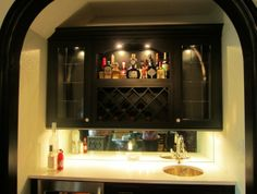 lighting, liquor storage