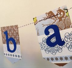 Baby Shower Banner  Welcome Baby  Winter Blue and by JessMadeThis, $15.00