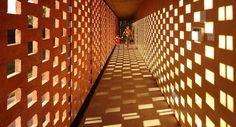 Pabellón experimental de ladrillo en Buenos Aires, del Estudio Botteri-Connell. Fotografía: Gustavo Sosa Pinilla y Agustín Ichuribehere.