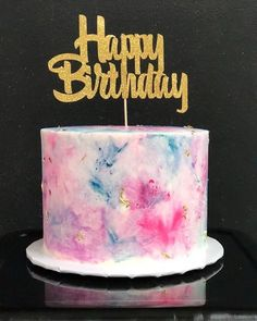 Tween and Teen Birthday Cake Ideas . cake 28 Cake Ideas That'll Be a Hit at Your Tween or Teen's Next Birthday Party 14th Birthday Cakes, Bithday Cake, Birthday Cakes For Teens, Beautiful Birthday Cakes, Cool Birthday Cakes, Birthday Cake Ideas For Adults Women, Birthday Cake Girls Teenager, Birthday Cake For Women Simple, Teenage Girl Birthday