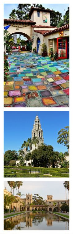 Destinations's photo pheed: Balboa Park in San Diego-- love the stone path