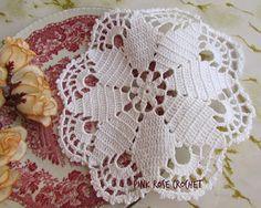 Centrinho Branco Flor Estrela