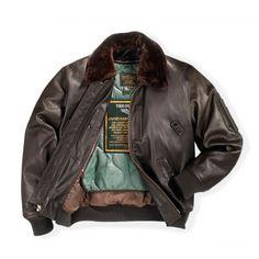 Leather B-15 Jacket