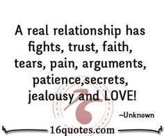 A real relationship quotes