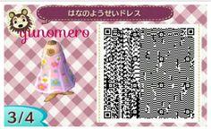 * Tobimori ゜ ゜ clothes My design ☆ flower fairy dress ☆ QR code   ☆ ゆ め め ろ ☆ コ コ ッ ト 村 * ゜ 森 ブ ロ グ ☆