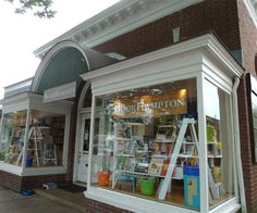 Librairie à East Hampton #USA