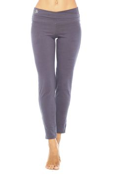 Super soft, tight leg yoga leggings.  Comfy enough for lounging, but stylish enough for everyday wear.