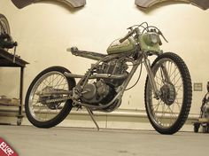 """The Scarab"" Yamaha XT 500 by Dan Collins from Old Gold Garage Custom Moped, Custom Motorcycles, Dan Collins, Sportbikes, Supersport, Bobber, Motorbikes, Yamaha, Garage"