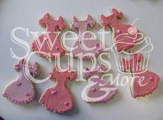 Cookies Vestidos para el 1º Añito de Michelle