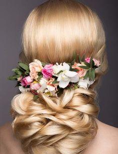 Evening Hairstyles, Wedding Hairstyles, Blonde Updo, Updos For Medium Length Hair, Locks, Beautiful Mess, Portraits, Hair Dos, Hair Designs
