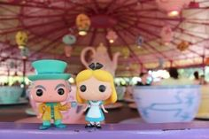 Bringing Funko Pops for park photo ops! How cool!