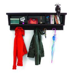Striado Coat Rack and Shelf