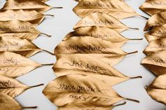 Wedding Ideas By Colour: Gold Wedding Table Plans - Take your places   CHWV