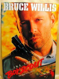 Movie Program Japan- LAST BOY SCOUT, THE /1991/ BRUCE WILLIS, DAMON WAYANS
