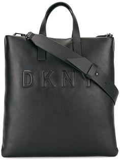 Dkny Embossed Logo Tote Farfetch Logoaccessories Fashion Accessoriesdkny Bagsleather Bagshoulder