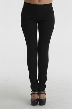 Guess By Marciano Woven Capri Pants, Black