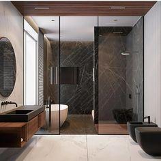 Luxury Bathroom Shower Design Ideas Source by The post Luxury Bathroom Shower Design Ideas appeared first on Victoria Home DIY. Modern Bathroom Design, Bathroom Interior Design, Interior Decorating, Bathroom Designs, Decorating Ideas, Modern Luxury Bathroom, Luxury Shower, Luxury Spa, Minimalist Bathroom