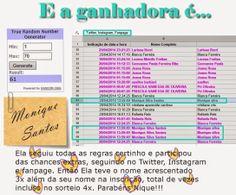 Sorteio encerrado! Muito obrigada a todas que participaram. Logo menos um novo sorteio irá se iniciar, aguardem. Beijo Beijo http://semprebarbaras.blogspot.com.br/2014/05/resultado-do-sorteio.html
