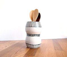 Ceramic Cinched Vase