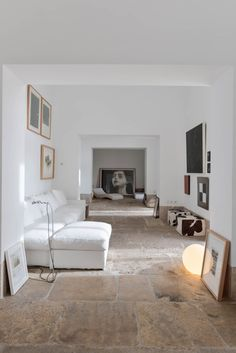An impressing 18th century castle in Lisbon, Portugal, restored by Lisbon-based architects Aires Mateus Arquitectos | Photo by Ricardo Oliveira AlvesFollow Style and Create at Instagram | Pinterest | Facebook | Bloglovin