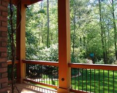 I like the railings  Traditional Porch Redwood Deck Design, Pictures, Remodel, Decor and Ideas - page 2