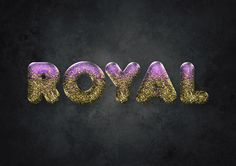 How to Create an Easy Gold Glitter Text Effect in Adobe Photoshop  design.tutsplus.com/tutorials/how-to-create-an-easy-glitter-text-effect--cms-26987 #Photoshop #Tutorial #GraphicDesign