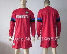 82684bc0f96 Wholesale 12-13 Inter Milan away long sleeve soccer jersey