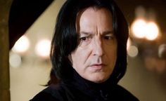 BBC: Alan Rickman who played Professor Snape in the Harry Potter series has died of cancer on this day, Jan. 14, 2016. | Alan Rickman in Harry Potter