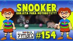 Snooker, dar ou não dar gorjeta aos motoboys e muito mais - Programa Zma...