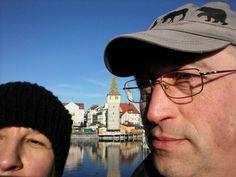 Lindau and my wife (1 eye )