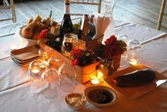 italian dinner decor | Sandra's Added Touch Catering: Perfect Rehearsal Dinner