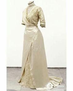 1911 wedding dress