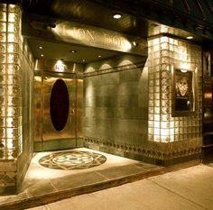 Art Deco Architecture - Lion D'Or Night Club - Montreal