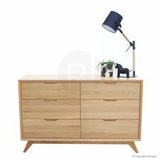 Ranvir Modern Designer 6 Drawer Chest - Pickup unavailable from our Melbourne Warehouse. This product is not currently on display in Abbotsford Showroom
