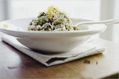 Orzo and Broccoli Pesto Salad by Spouted Kitchen