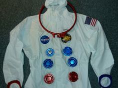 Apollo astronaut suit components that I designed for a fancy dress party. Components were designed from historical photographs of the Apollo program s Astronaut Space Suit, Astronaut Costume, Apollo Program, Space Suits, Dress Party, Printers, Fancy Dress, Nasa, Separate