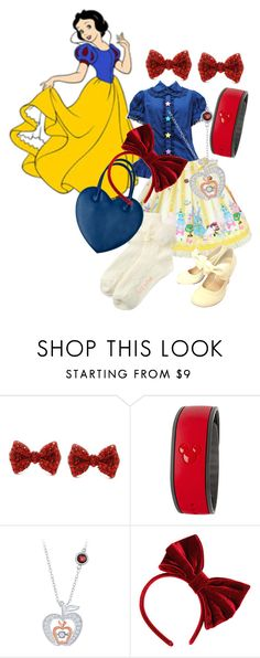 """Lolita-fy Snow White"" by xxshemurrqueenxx ❤ liked on Polyvore featuring Disney, INC International Concepts and Topshop"