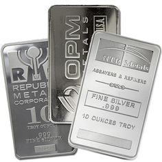 Silver Bar (10 Oz) from Independent Living Bullion.