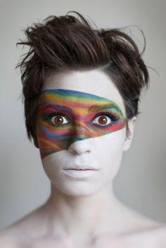 tipos de maquillaje teatral - Buscar con Google Maquillaje Halloween, Halloween Makeup, Circus Makeup, Fantasy Make Up, Character Makeup, Make Up Art, Makeup Photography, Creative Photography, Creative Makeup