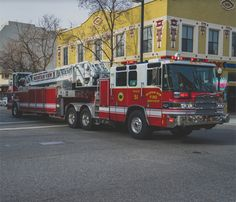 The rich history of a fire engine's color dates back to the Discover why fire trucks are red, and if it's truly the best color for your rig Fire Dept, Fire Department, Lego Truck, Cool Fire, Fire Apparatus, Emergency Vehicles, Fire Engine, Ford Trucks, Ambulance