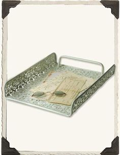 METAL LACE TRAY @ Victorian Trading