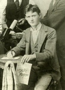 Drury Graduate, Carlos Hurd,  dispatched the first accounts of the Titanic disaster.