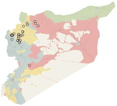 Who Has Gained Ground in Syria Since Russia Began Its Airstrikes - The New York Times